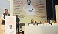 The Minister of State for Culture (Independent Charge), Tourism (Independent Charge) and Civil Aviation, Dr. Mahesh Sharma addressing at the Birth Anniversary Celebrations of Pandit Deendayal Upadhyaya.jpg