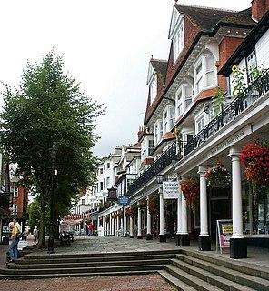 Royal Tunbridge Wells town in Kent, England