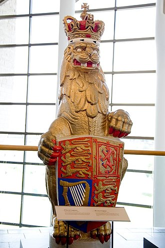 The Queen's Beasts - Image: The Queen's Beasts The Lion of England