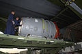 The Submarine Rescue Chamber (SRC) is loaded aboard an Air Force Reserve C-5A Galaxy at Naval Air Station North Island, Calif 000924-N-YM689-007.jpg