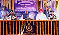 The Union Home Minister, Shri Rajnath Singh at the Sainik Sammelan of Border Security Force, at Angrail Border Out Post in North 24 Paraganas of West Bengal, on April 01, 2015.jpg