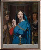 The Virgin Adoring the Host MET DP136074