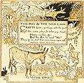 The baby's own Aesop - being the fables condensed in rhyme with portable morals pictorially pointed by Walter Crane. Engraved and printed in colours by Edmund Evans (1908) (14566750750).jpg