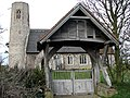The church of All Saints with lych gate - geograph.org.uk - 720054.jpg
