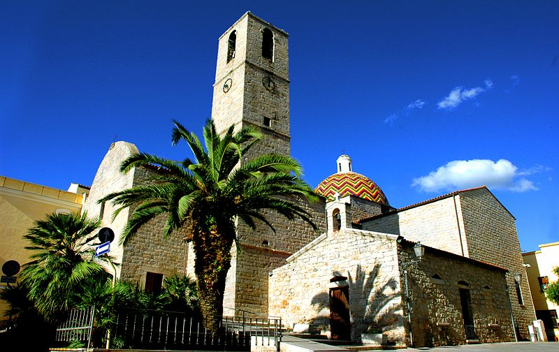 File:The church of S.Paolo of Olbia, Sardinia - panoramio.jpg
