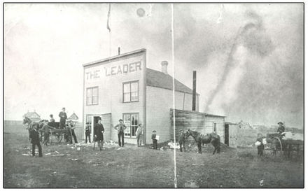 The first Leader Building, Regina, Assiniboia The first Leader building.jpg