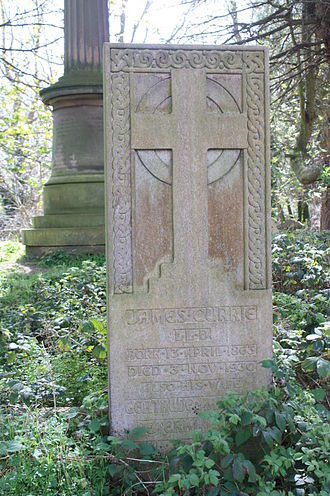James Currie (shipowner) - The grave of James Currie, Warriston Cemetery