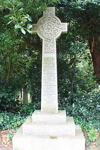David Anderson, Lord St Vigeans - The grave of David Anderson, Warriston Cemetery