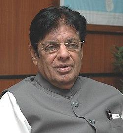 The portrait of the Minister of State for Railways, Shri E. Ahammed.jpg