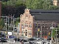 The sun lights up the west facade of 51 Division, 2015 09 09.JPG - panoramio.jpg