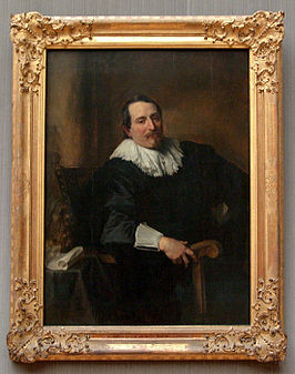 Theodoor Rombouts door Anthony van Dyck