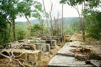 Wolfram, Queensland - Foundations of Thermo Electric Ore Reduction Corporation Mill (2003)