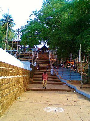 Angadipuram - Thirumanthamkunnu Bhagavathi Temple
