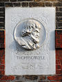 Thomas Carlyle lived at 24 Cheyne Row 1834 - 1881.jpg