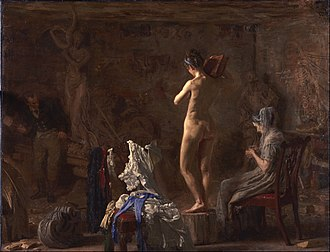 Benjamin Randolph (cabinetmaker) - Image: Thomas Eakins, American William Rush Carving His Allegorical Figure of the Schuylkill River Google Art Project