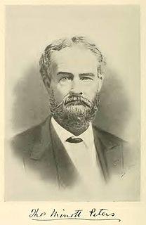 Thomas Minott Peters American judge