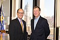 Thomas Perez meets with Governor John Hickenlooper Jr., January 2015.jpg
