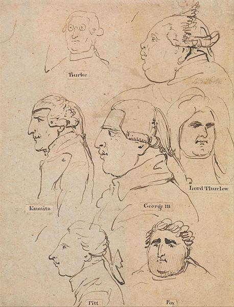 File:Thomas Rowlandson - Studies of George III and Statesmen - Google Art Project.jpg