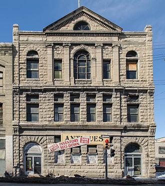 Thomas Scott (Orangeman) - Thomas Scott Memorial Orange Hall, 216–218 Princess Street, Winnipeg
