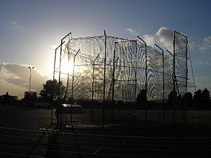 Chris Cralle - Throwing Cage – geograph.org.uk – 33131