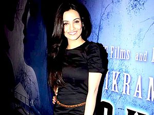 Tia Bajpai - Bajpai at the success bash of Haunted 3D in 2011