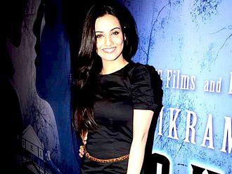 Tia Bajpai - Bajpai at the success bash of Haunted 3D in 2011