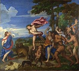 באכוס ואדריאנה - טיטאן הגלריה הלאומית בלונדון