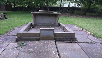 Benjamin Huntsman - Benjamin Huntsman's tomb, in the graveyard of Attercliffe Chapel