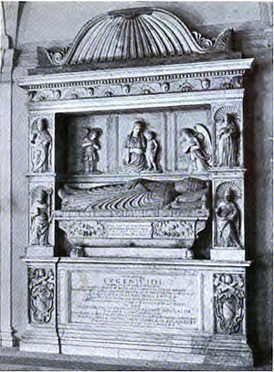 San Salvatore in Lauro - The translated tomb of Eugene IV