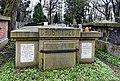 Tomb of Walery Eljasz-Radzikowski (Polish painter), Rakowice Cemetery, 26 Rakowicka street, Kraków, Poland.jpg