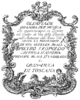 Tommaso Traetta - Olimpiade - titlepage of the libretto - Florenz 1767.png