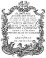 Tommaso Traetta - Olimpiade - titlepage of the libretto - Florenz 1767.png
