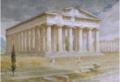Tony Binder Der Poseidon-Tempel in Paestum 1937.PNG