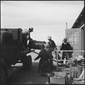 Topaz, Utah. A crew delivering United States Army Number 1 Space Heaters to a resident barracks at . . . - NARA - 538714.tif