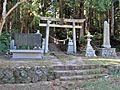 Torii gate of Takakura-jinja shrine in Haramachi ward 01.JPG
