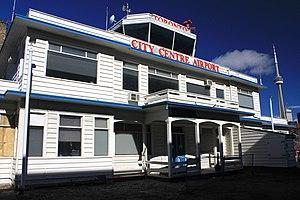 History of Toronto Island Airport - Island Airport terminal