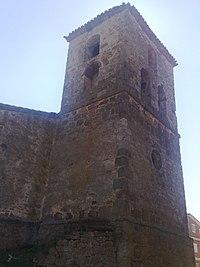 Torre de la iglesia de Quintanalara.JPG
