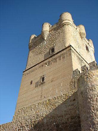 Atalaya Castle (Spain) - The keep.
