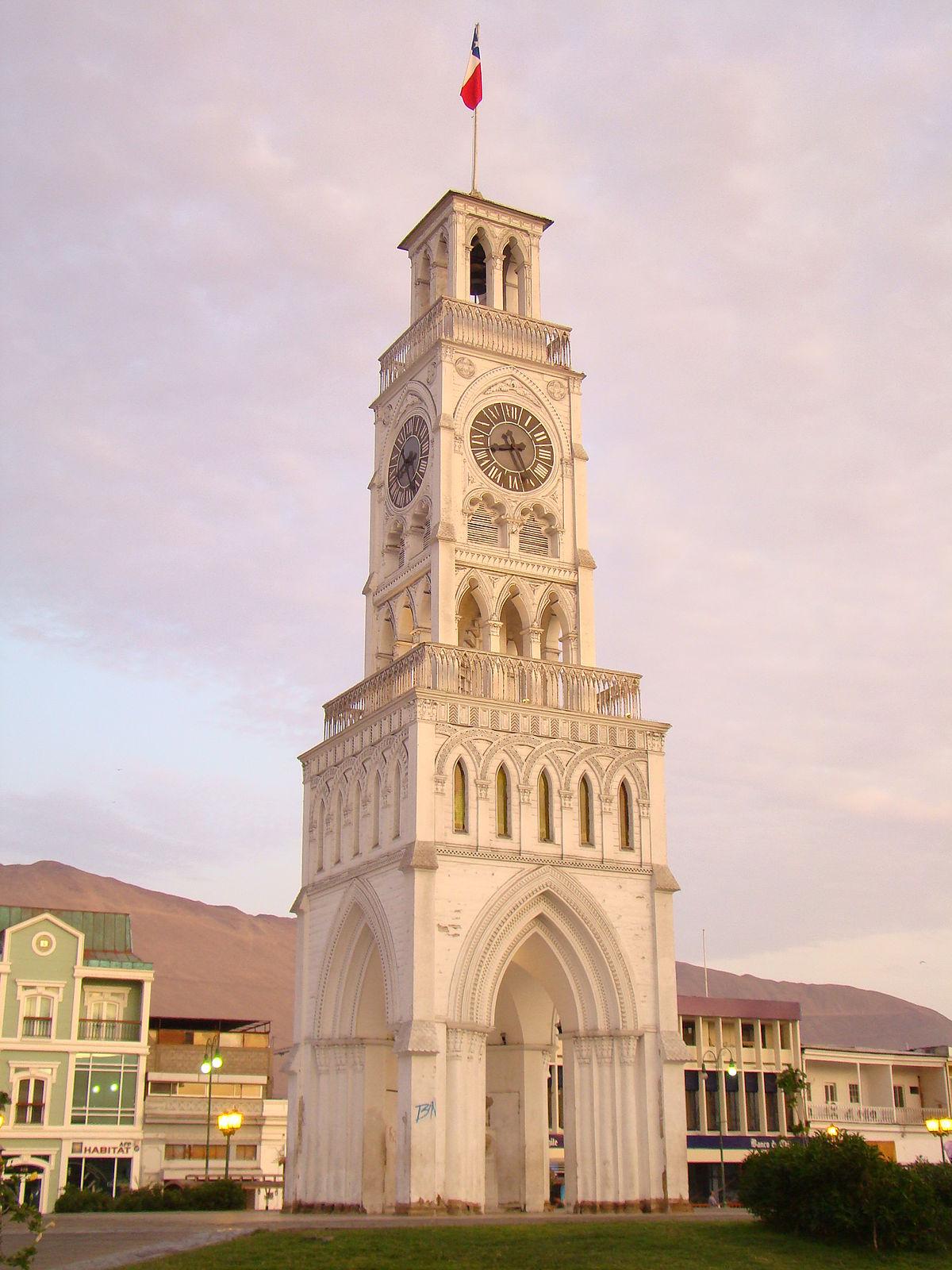 Torre Del Reloj Iquique Wikipedia La Enciclopedia Libre