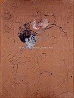 Toulouse-Lautrec - ETUDE DE FEMMES DE PROFIL, 1890, MTL.133.jpg