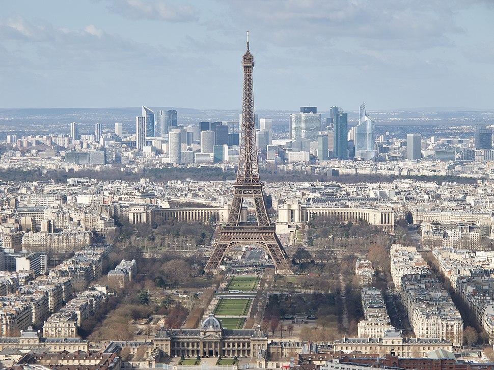 Tour Eiffel, École militaire, Champ-de-Mars, Palais de Chaillot, La Défense - 03