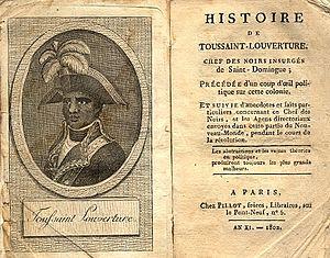 Histoire de Toussaint-Louverture, chef des noirs insurgés de Saint-Domingue cover