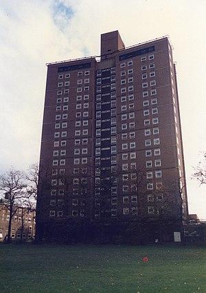 Owens Park - Image: Tower Block, Owens Park, Manchester