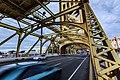 Tower Bridge - Cars and Traffic Blur - Sacramento, California (26037938165).jpg