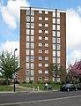 Tower block by Hanger Vale Lane - geograph.org.uk - 1843308.jpg