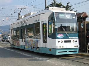Toyohashi Railroad - Type 800 tram of Azumada Main Line.