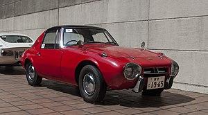 Toyota Sports 800 - Image: Toyota Sports 800 at History Garage