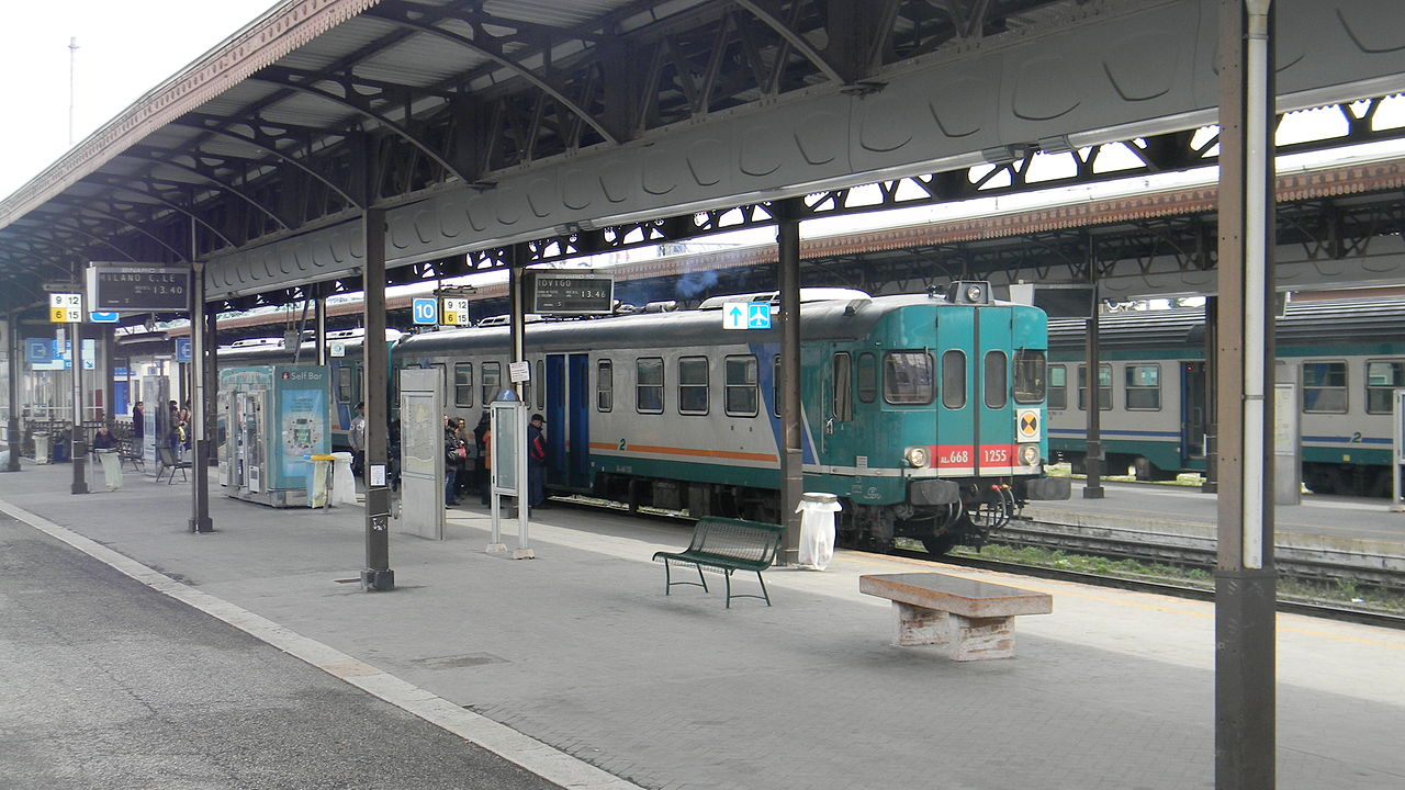 File train fs aln 668 in verona porta nuova 2013 jpg - Mezzi pubblici verona porta nuova ...