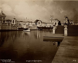 Trans-Mississippi Exposition - Image: Trans Mississippi Canal