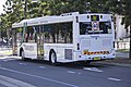 Transdev (mo 9973) Volgren 'CR228L' bodied Scania K230UB on Olympic Boulevard at Sydney Olympic Park (2).jpg